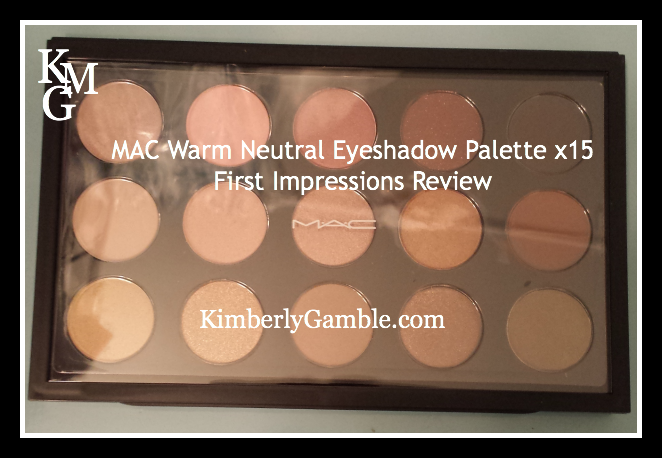 Mac Eye Color Palette