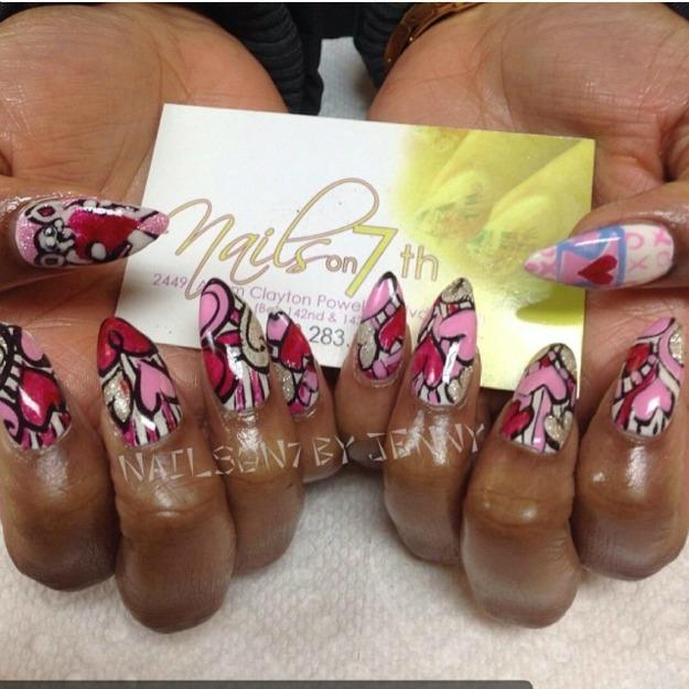 Silk nails vs. Acrylic nails vs. Gel nails — Kimberly Gamble