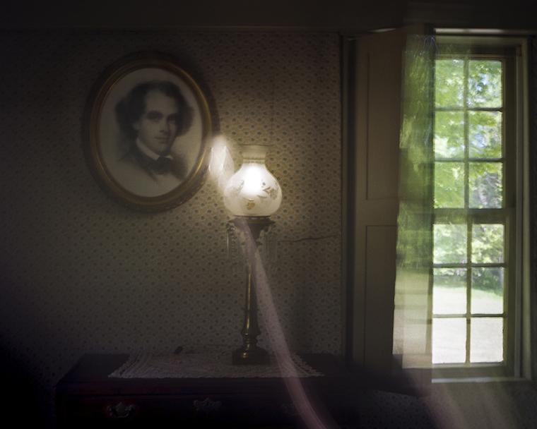 Portrait of Nathaniel Hawthorne, The Old Manse
