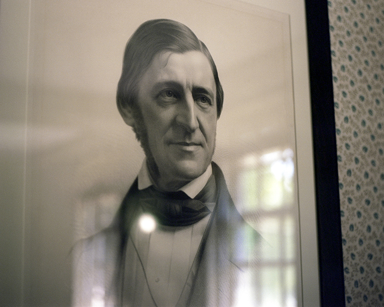 Portrait of Ralph Waldo Emerson