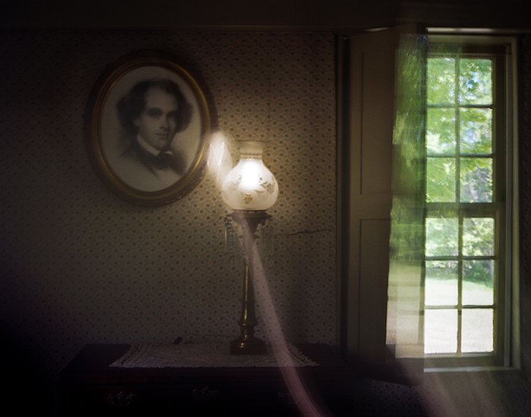 Portrait of Nathaniel Hawthorne, The Old Manse