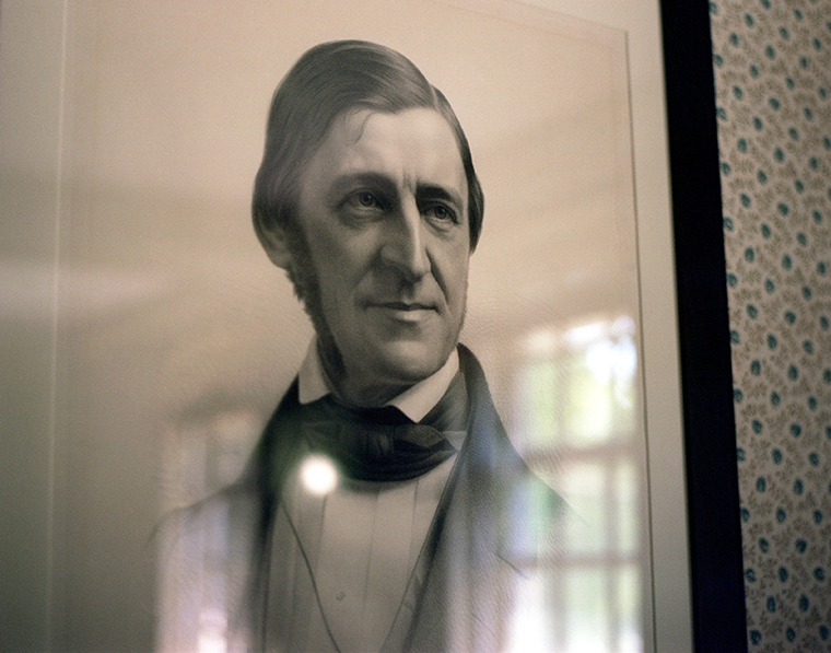 Portrait of Ralph Waldo Emerson, The Old Manse