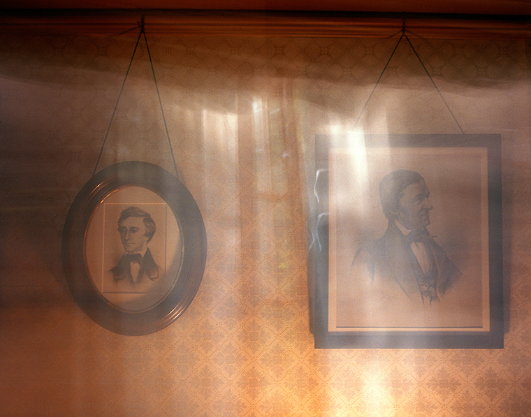 Portraits of Henry David Thoreau & Ralph Waldo Emerson, Orchard House