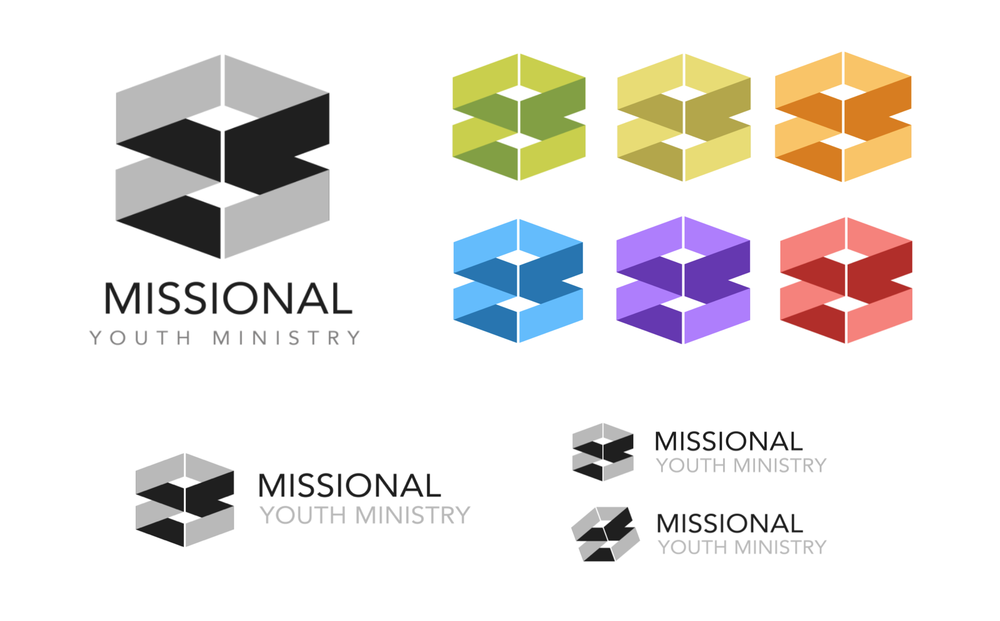 Missional Youth Ministry logo design