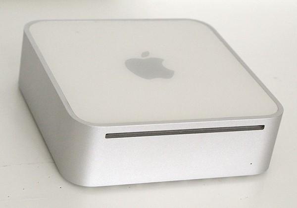 My first Mac - a Mac mini desktop. 2005.