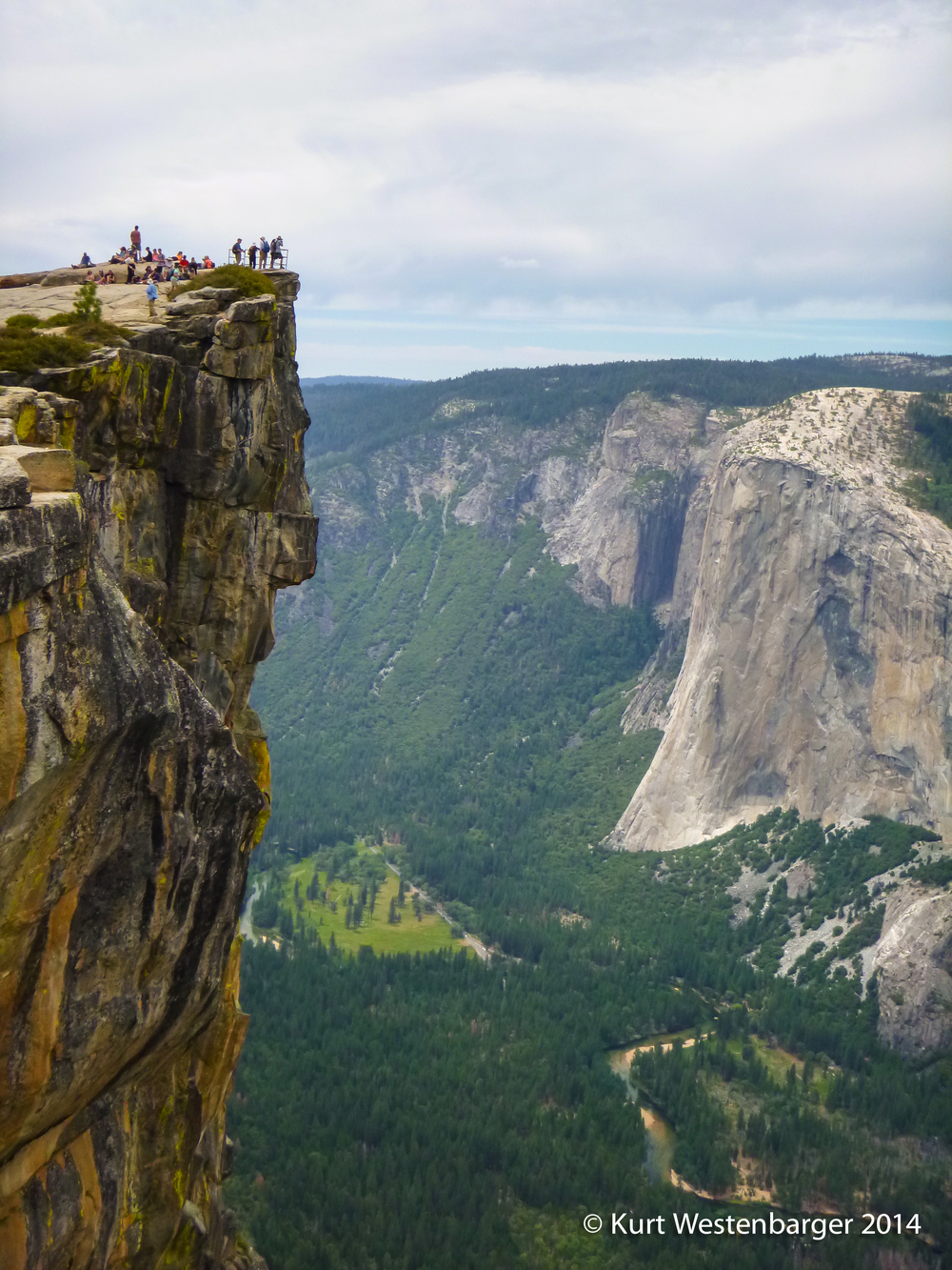 The view from Taft Point rivals that of the more famous, and crowded, Glacier Point.