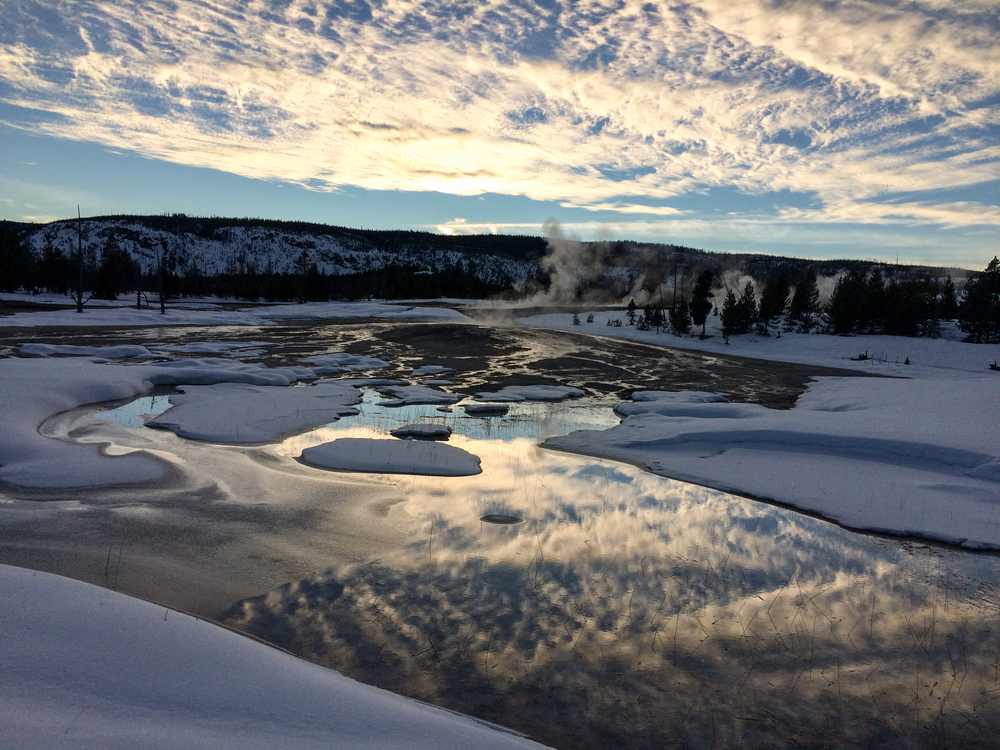 iPhone Image from Yellowstone National Park