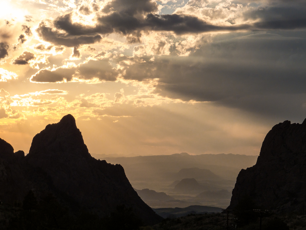 Sunset, Big Bend NP