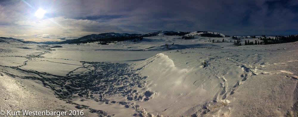 Lamar Valley. iPhone 5s