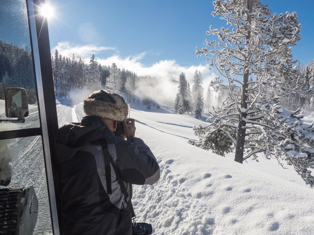 Photographing Yellowstone in winter has many challenges and rewards,