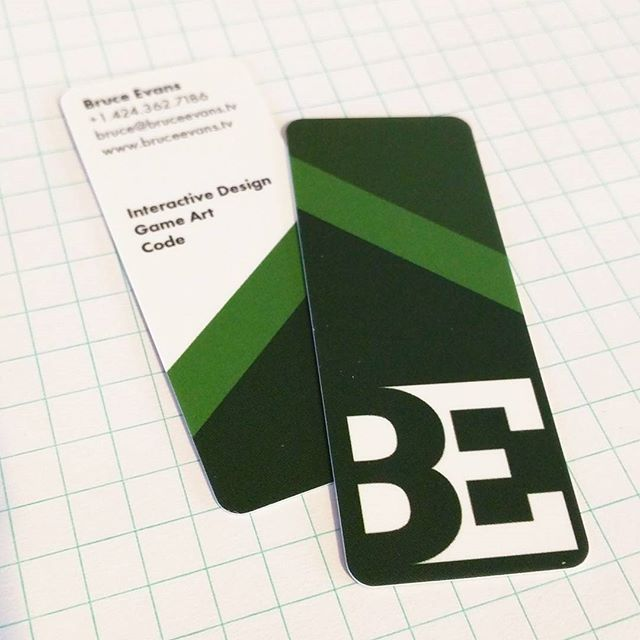 New business cards!  #buisnesscasual #bidness #hireme #code #design #green #moo