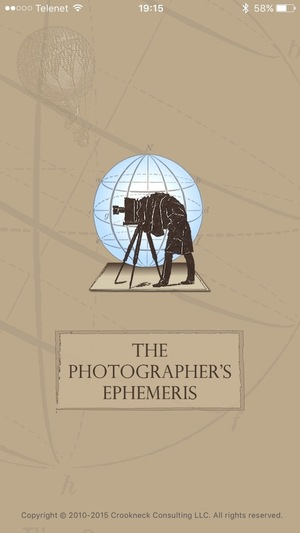 Ephemeris 2015