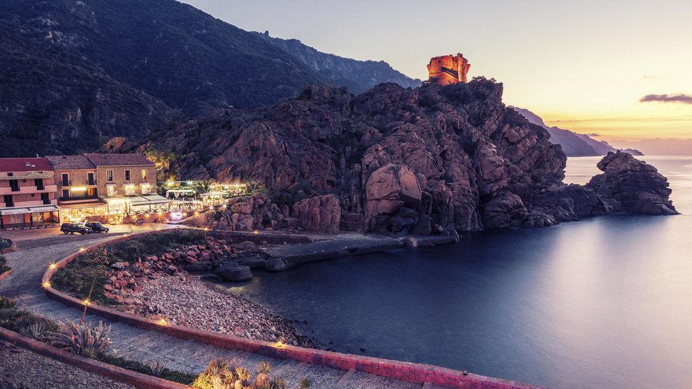 Porta Ota, Corse