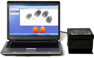 live scan fingerprint machine