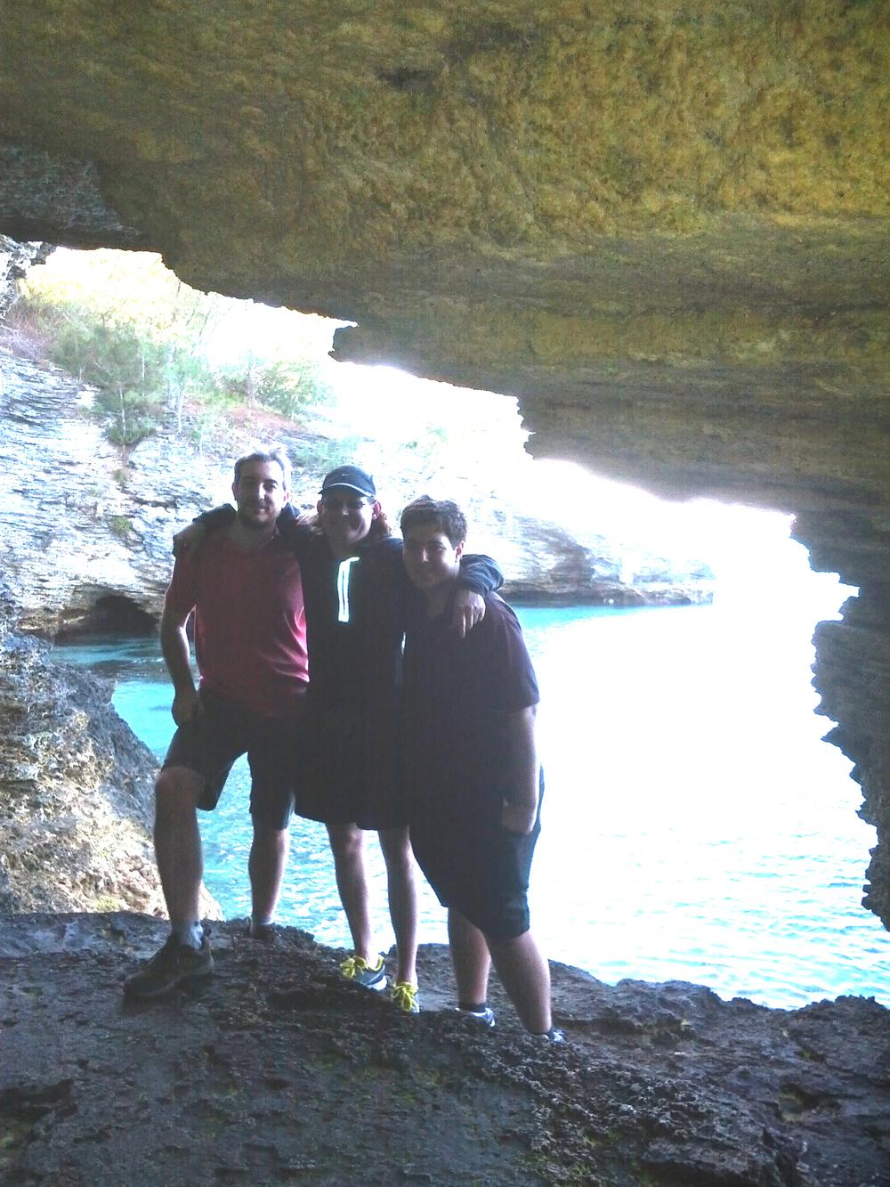 Adam P, Robert, Adam K - Bermuda 2013