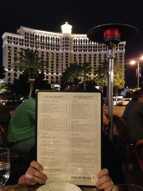 View from Dinner, Las Vegas