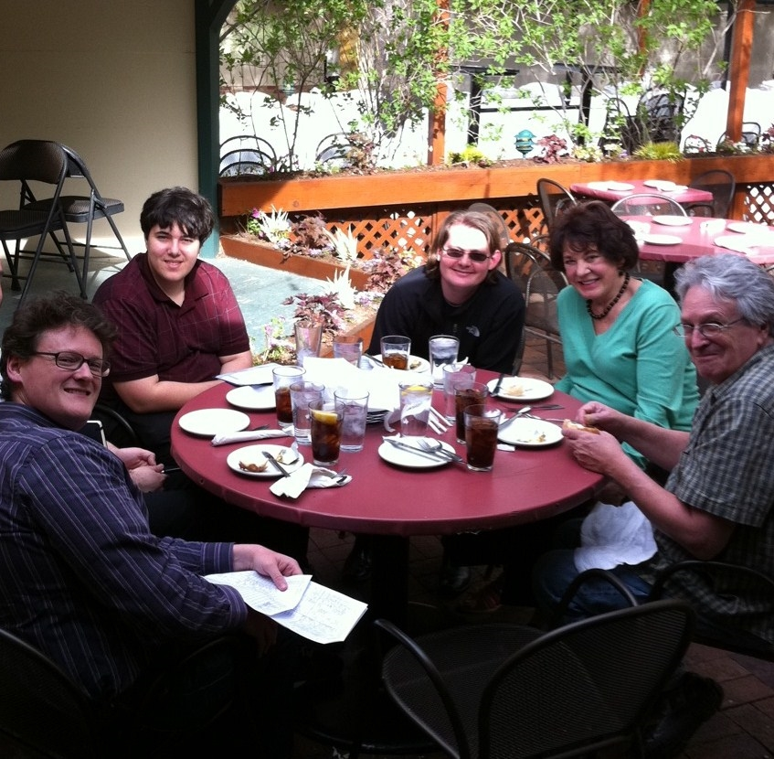 Marty's team, Salt Lake City - May 2011