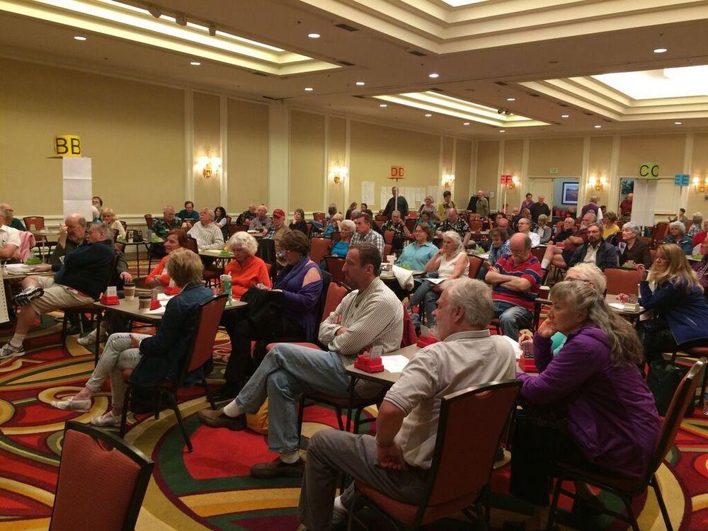 Robert's audience in Denver, May 2015
