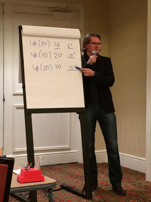 Robert teaching in Denver, May 2015