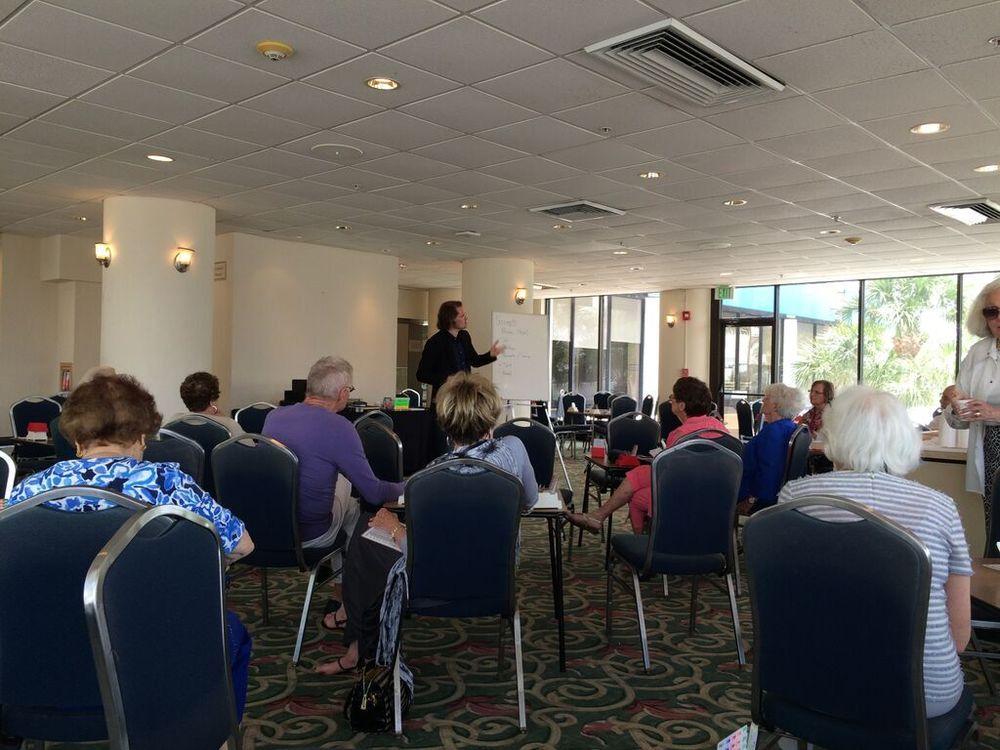 Robert teaching in Ft Lauderdale, April 2015