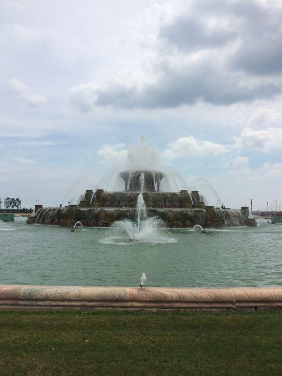 Buckingham Fountain, Chicago NABC, August 2015