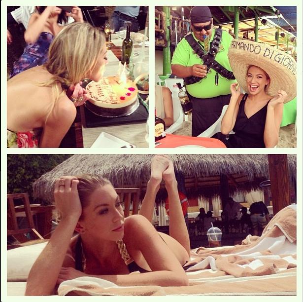 Stassi in Cabo celebrating #25. It's her birthday you know.