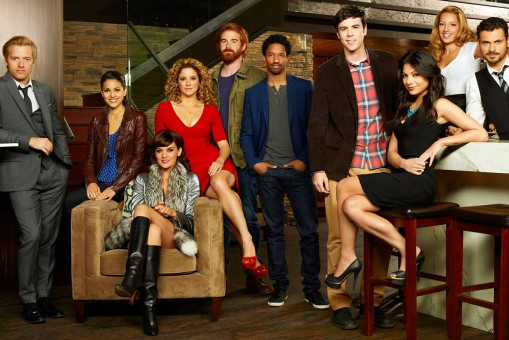 The cast of  Mixology .