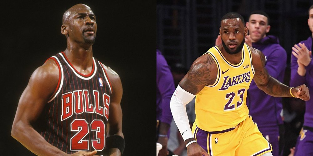 da0425fe28ad michael-jordan-lanza-un-reto-y-lebron-james-. Per The New ...