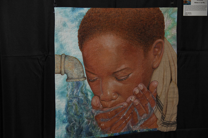 Woman at the Well by Cherrie Hampton of Oklahoma City