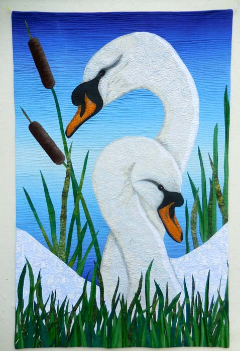 Swan Song by Sally Wright of Los Angeles