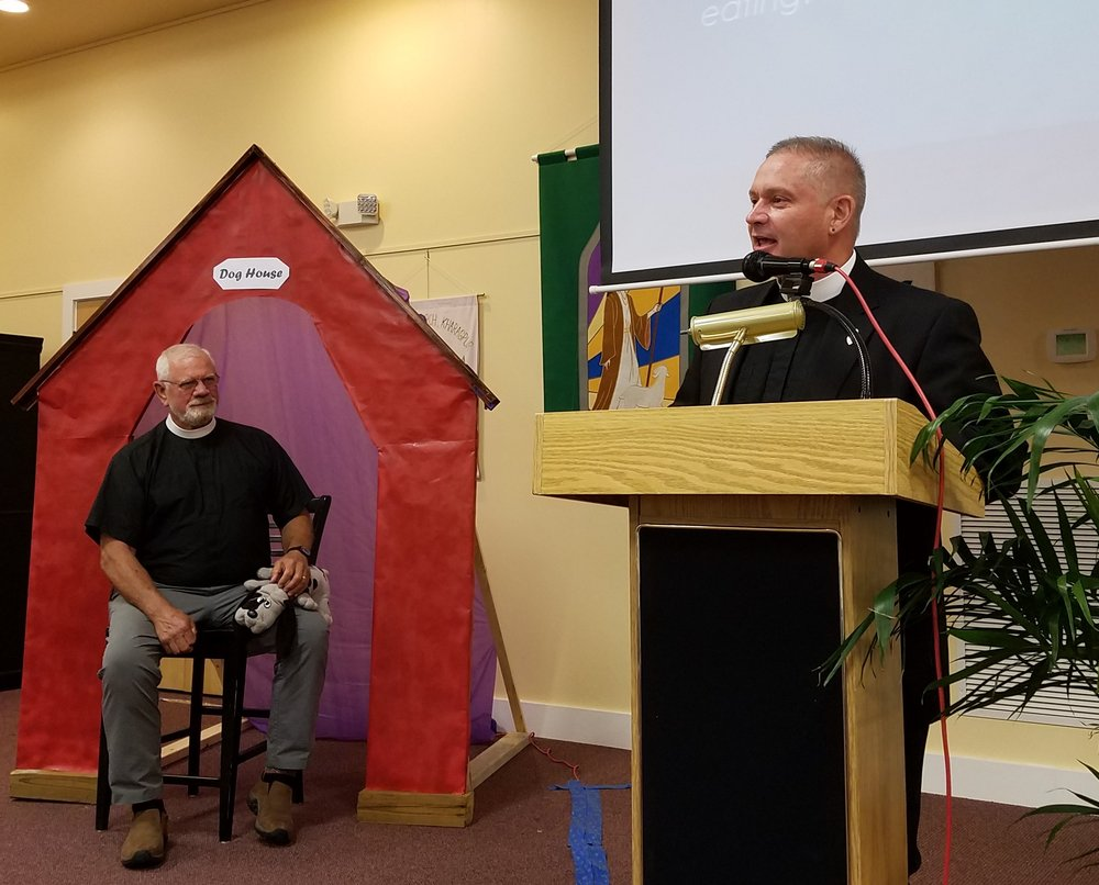 Rev. Turner Guidry Celebrates 20 Years in the Diaconate