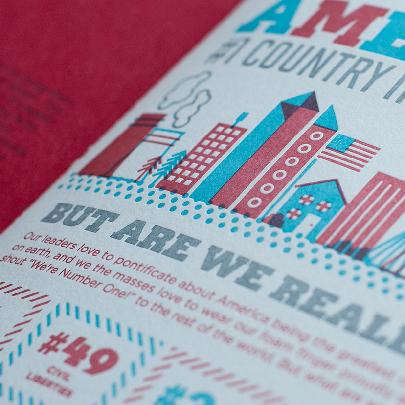 AMERICAN MANIFESTO Publication design, illustration