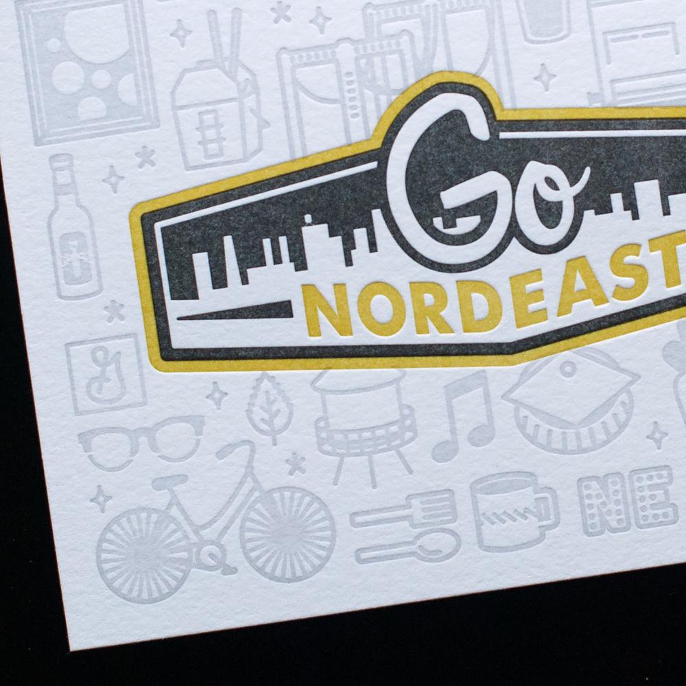 GO NORDEAST Product design, illustration