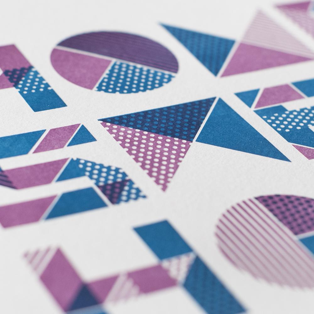 HOME SWEET HOME PRINT Print design, illustration, lettering