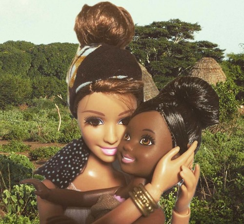 Orphans take the best pictures! Their sadness is so inspiring! [source: Barbie Savior]