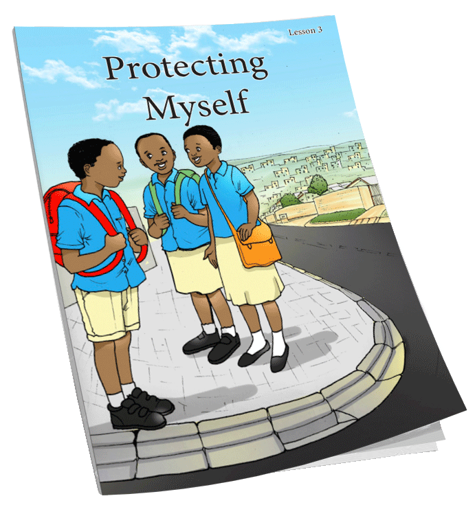 Alongsiders comic - lesson #3 on responding to sexual abuse. 10,000 copies of this lesson have been distributed to school children.