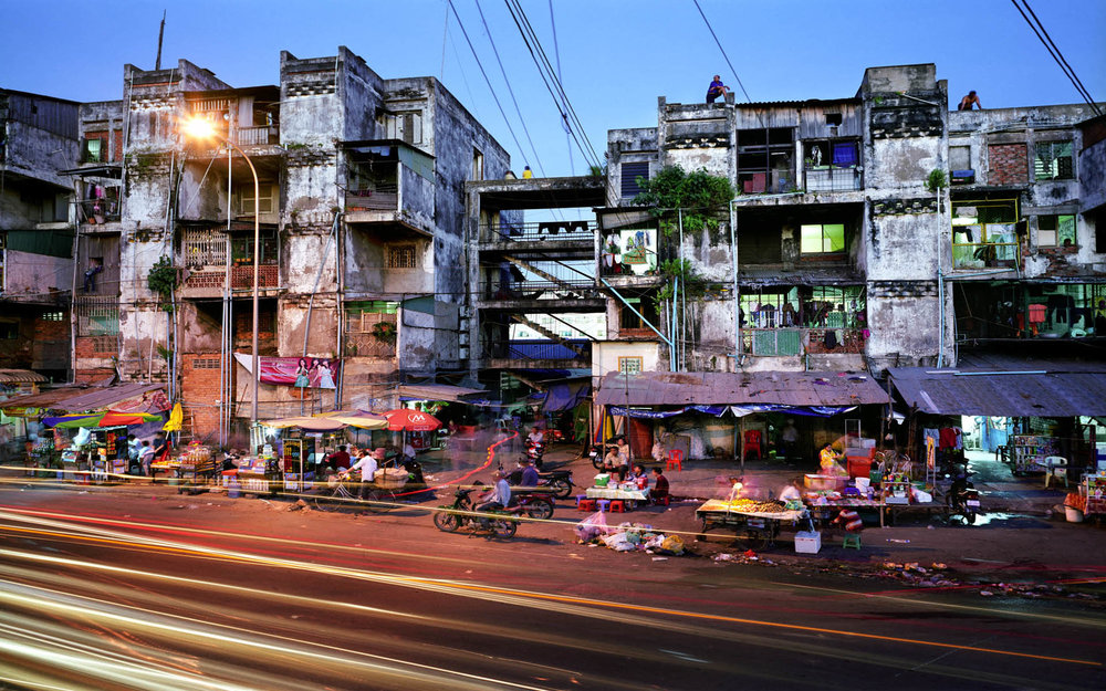 "My city, Phnom Penh, and its infamous ""White Building"" - where thousands of people make their home. Urban centers like this are at the heart of what God is doing today."