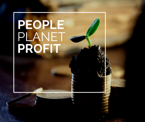 The 3 P's of Sustainable Business (I'd also add Pizza, but that's just me)