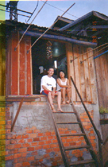 Our first home in Cambodia