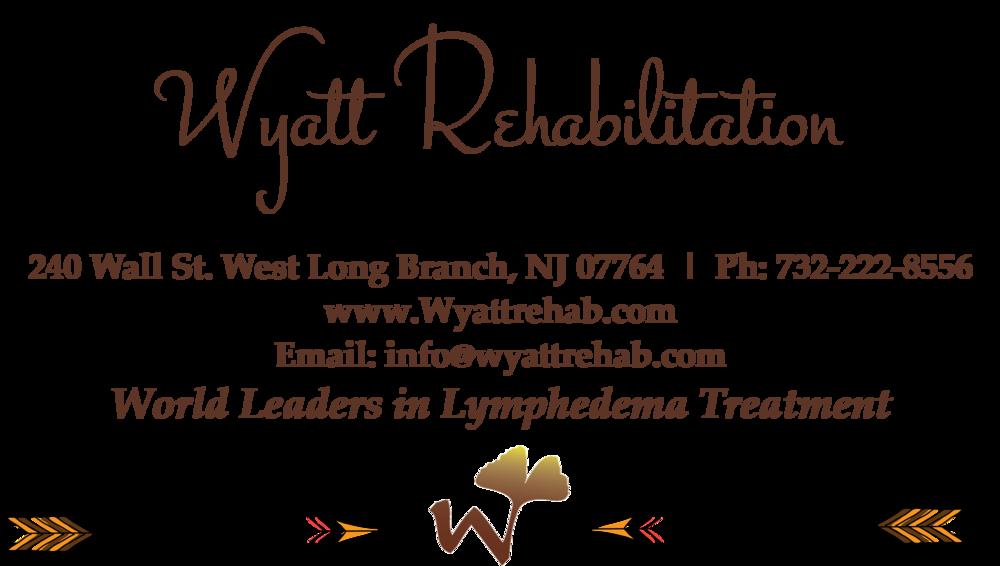 wyatt rehab lymphedema treatment nj breast cancer lymphedema venous insufficiency nj