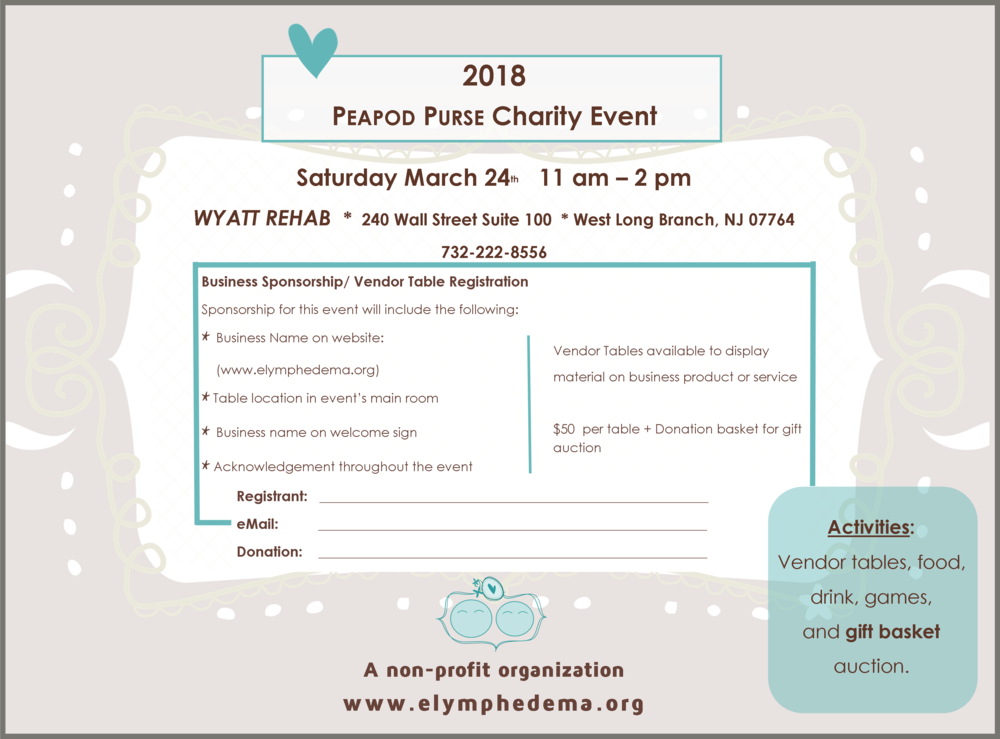 Lymphedema Charity Event 2018