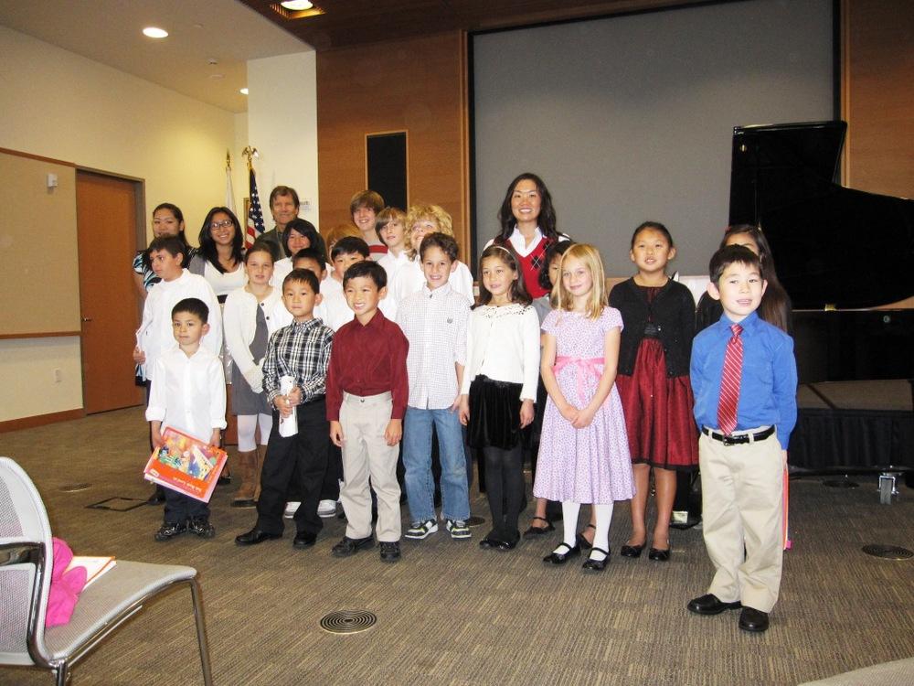 Soong Piano Studio 2009 Recital