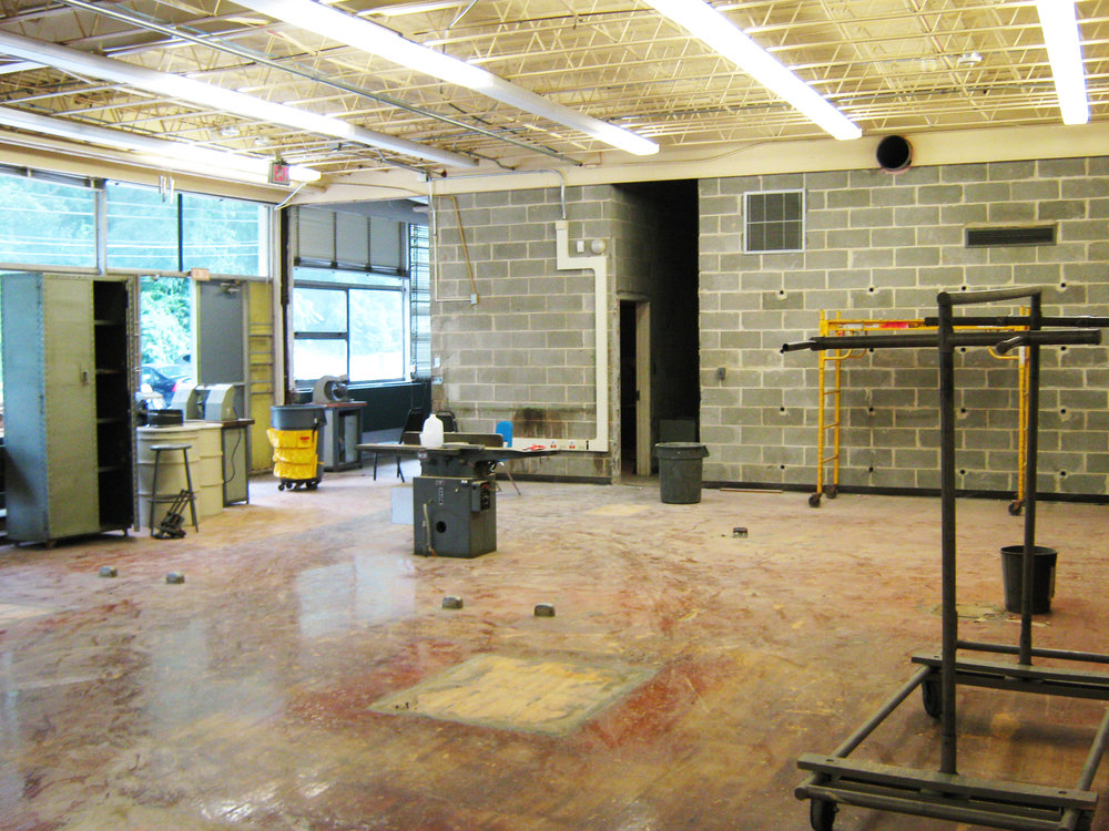 Copy of Before:  Old Woodshop