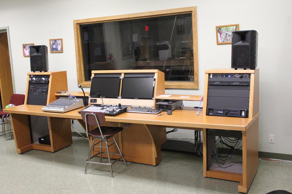 Copy of After:  TV Studio Control Room