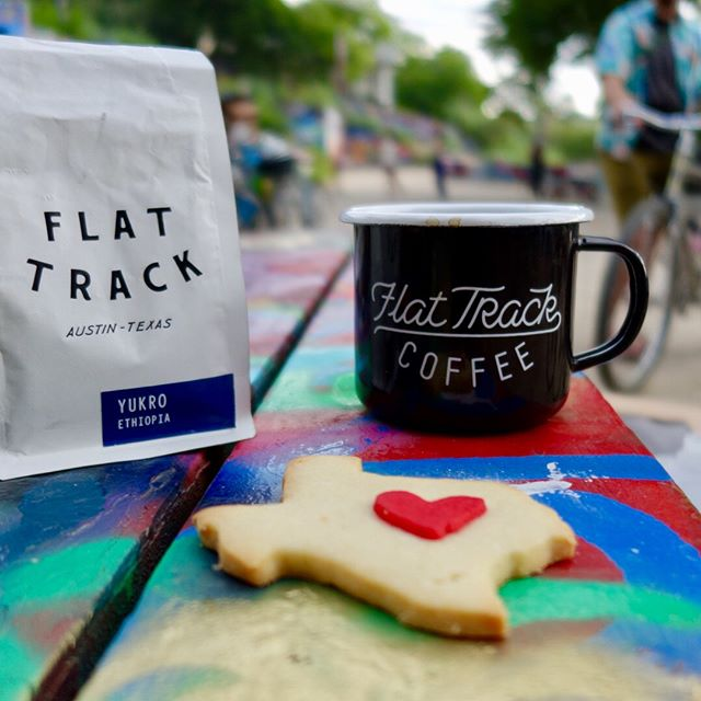 Tomorrow morning's #coffeeoutsideatx is at Eilers Park by Deep Eddy Pool! It's @a_mabry's last Friday in town before she leaves traveling for a while, so come share hugs and donuts. See you at 7:30!