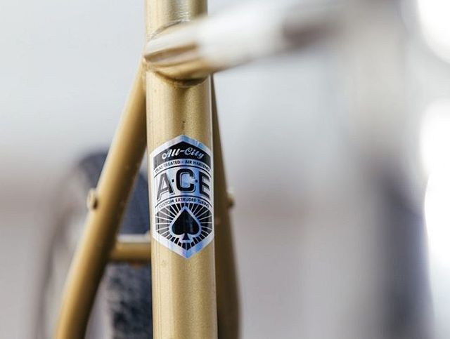 You only have to wait until August 4th to know everything. Known knowns are as followed: It shreds Cosmic gnar, and ACE tubing makes this the lightest and toughest Disc offering from the All-City team to date. More details on the blog link on the @allcitycycles page. #cosmicstallion #partybrand 📷:@johnprolly