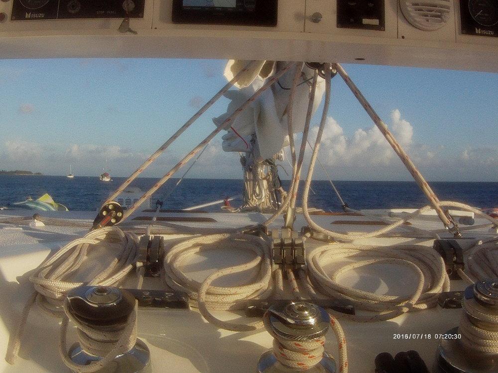 Sailing the Bahamas