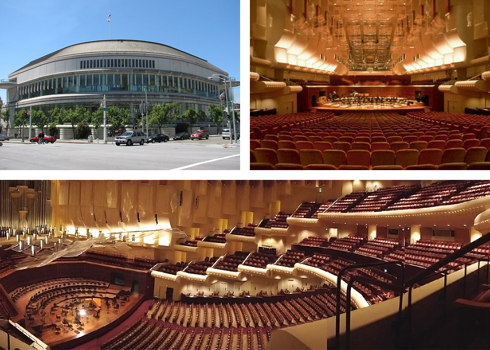 Davies Symphony Hall, San Francisco