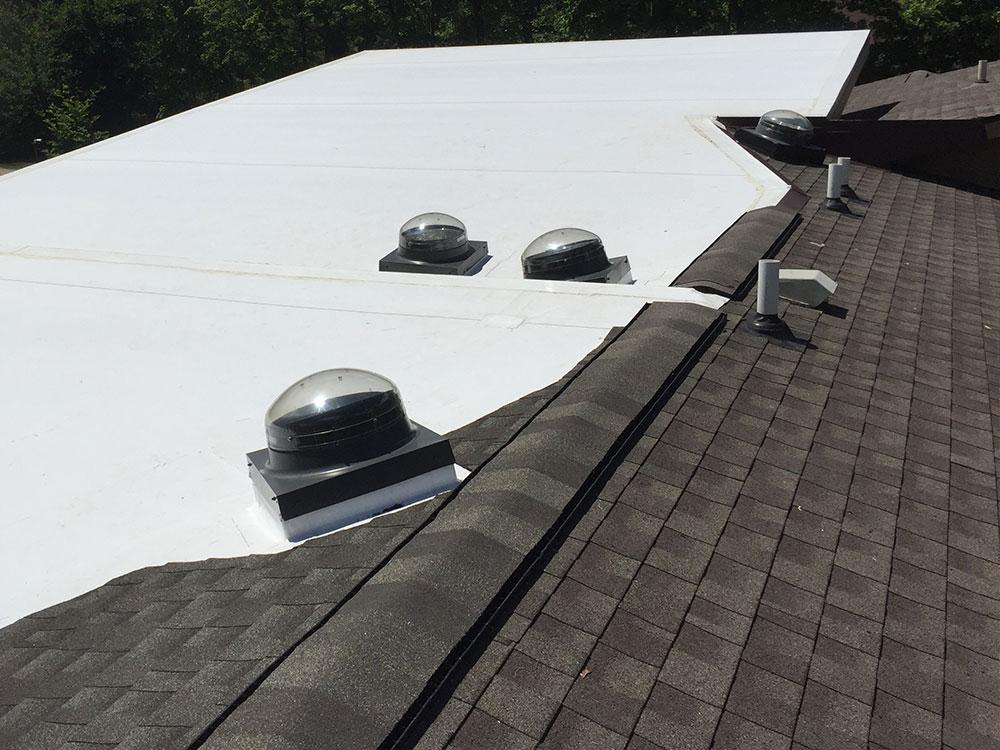 Gaf Tpo Flat Roof