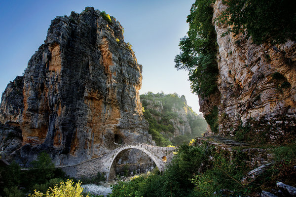 Bridge Greece Chris King NYTimes
